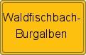 Wappen Waldfischbach-Burgalben