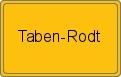 Wappen Taben-Rodt
