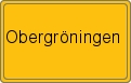 Wappen Obergröningen