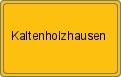 Wappen Kaltenholzhausen