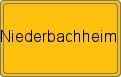 Wappen Niederbachheim