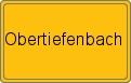 Wappen Obertiefenbach