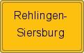Wappen Rehlingen-Siersburg
