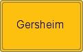 Wappen Gersheim