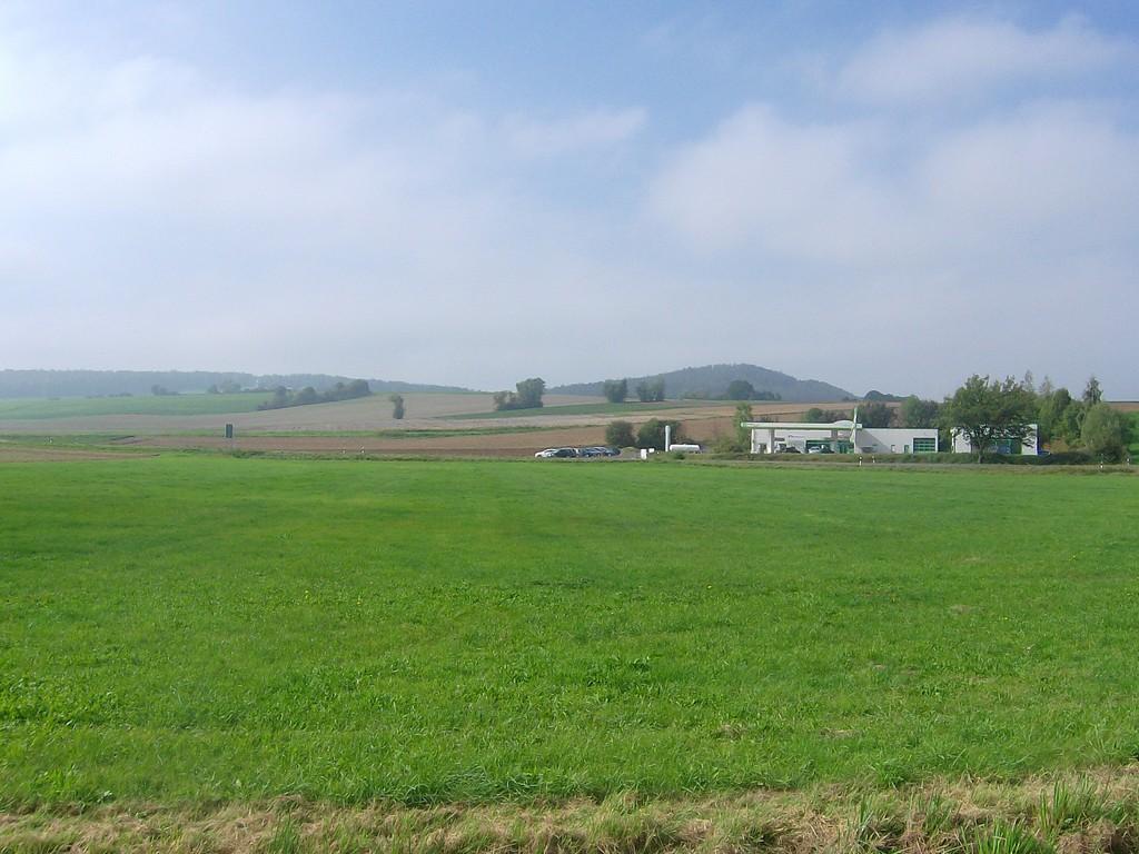Ansicht von Osten - linker Teil