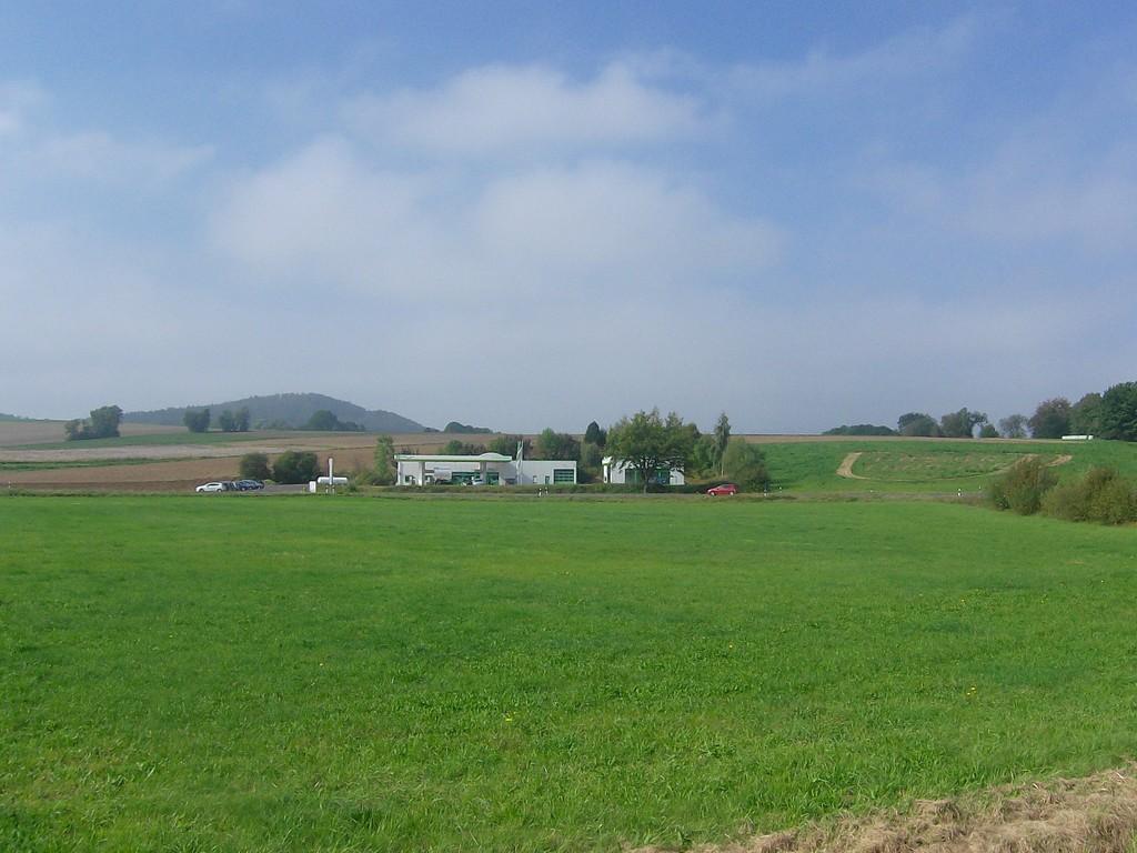 Ansicht von Osten - rechter Teil