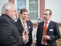 Holger Hestermann (rechts), Vermessungstechniker, Vermessungsbüro Müller