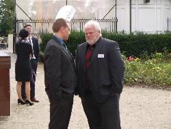 Raimund Mistecky (rechts), Vermessungsingenieur, Vermessungsbüro Müller