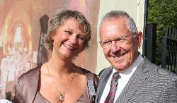 Verena Schneider, Grundstücksvertrieb und Wilfried Schneider, Projektleiter, beide Terramag GmbH