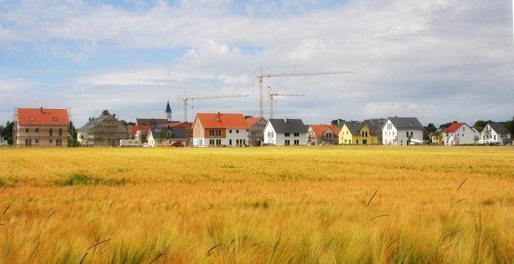 Foto: Neubaugebiete zur Wohnbebauung