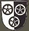 Wappen/Stadtlogo von Poppenhausen an der Wasserkuppe
